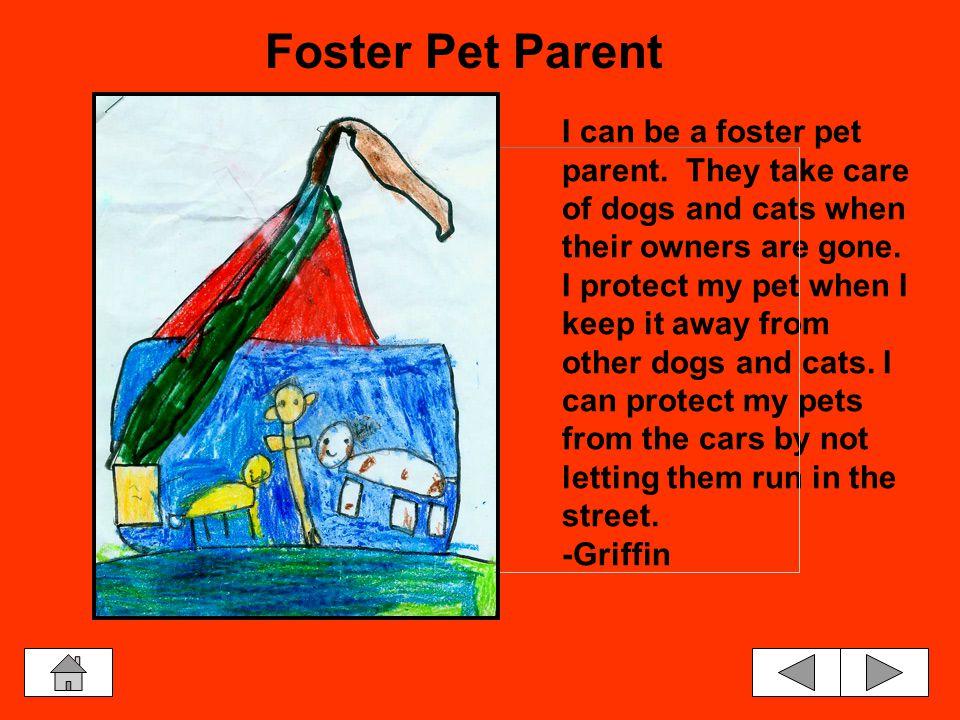 Pet Vocabulary Companion & Wild Animals Canines & Felines OverpopulationResponsibilities Cruelty & KindnessFoster Pet Parent