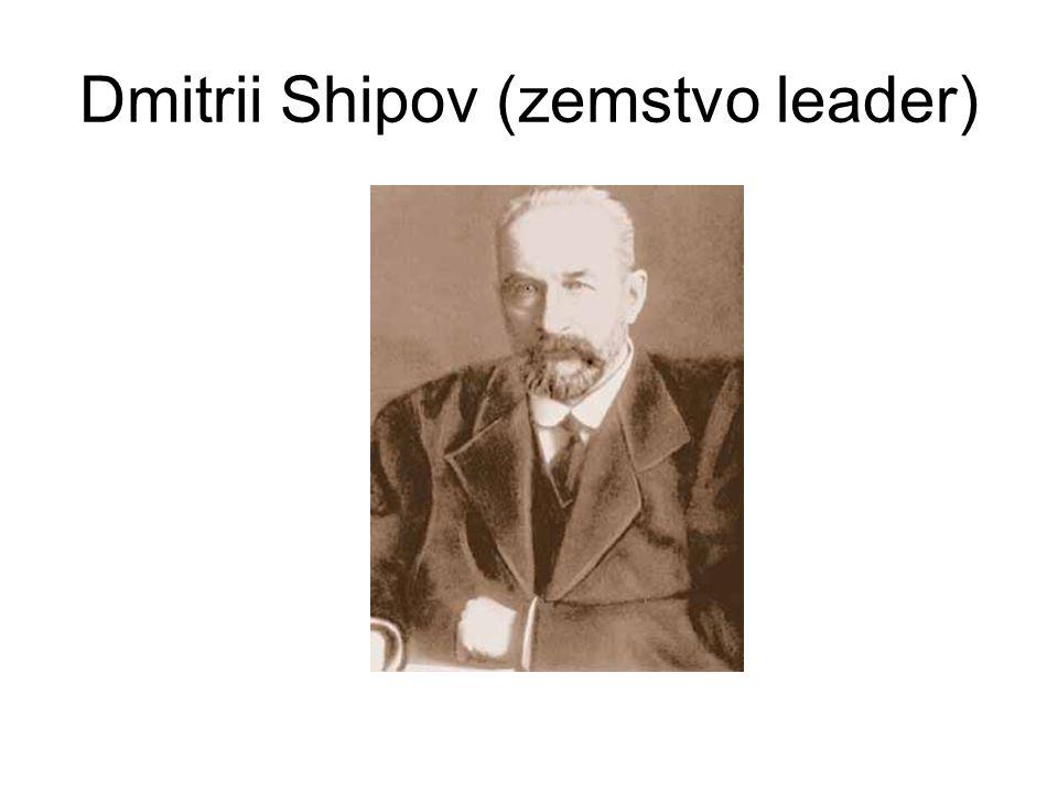 Dmitrii Shipov (zemstvo leader)