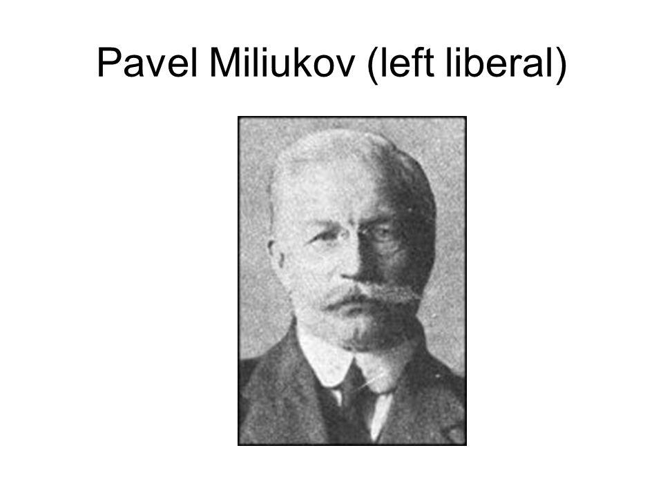 Pavel Miliukov (left liberal)