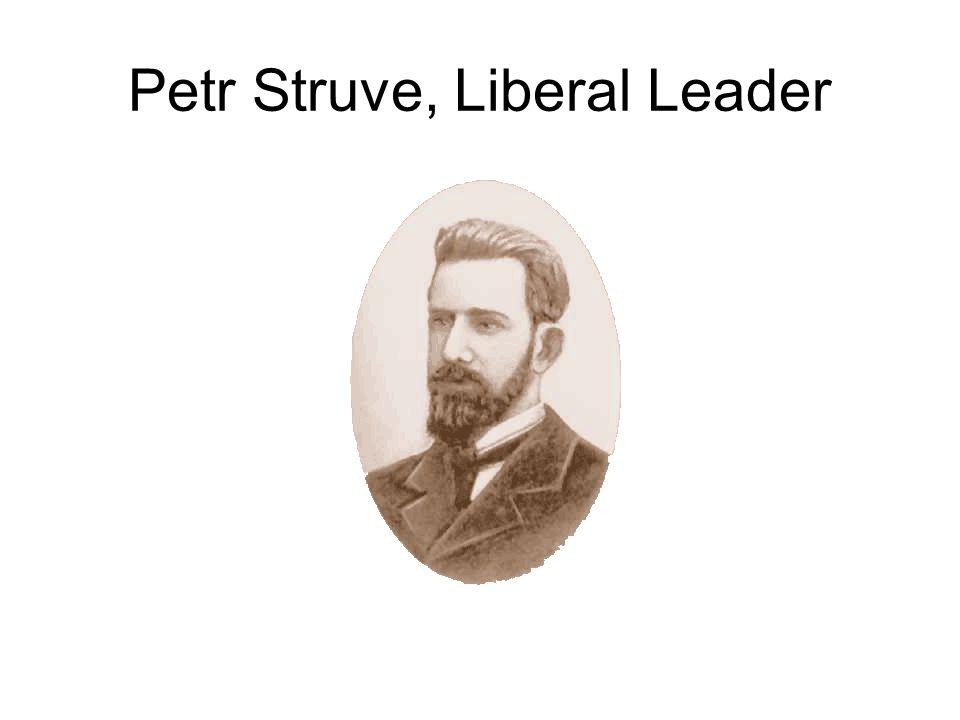 Petr Struve, Liberal Leader