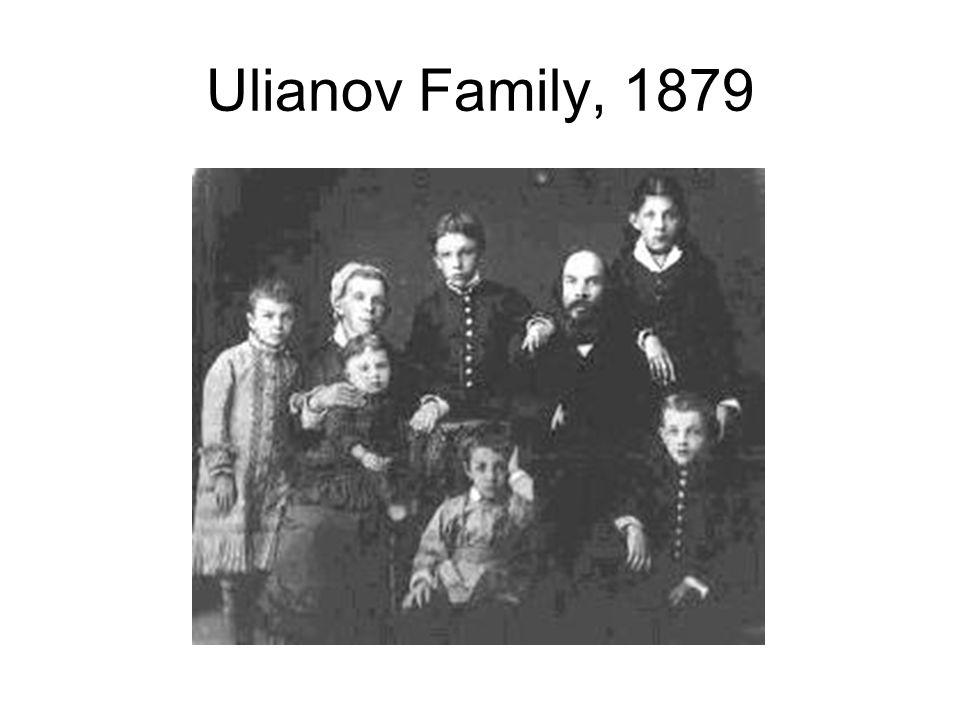 Ulianov Family, 1879