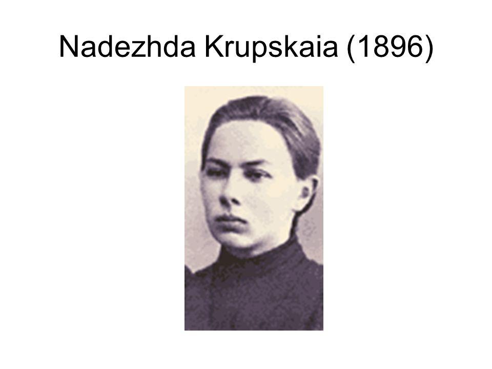 Nadezhda Krupskaia (1896)