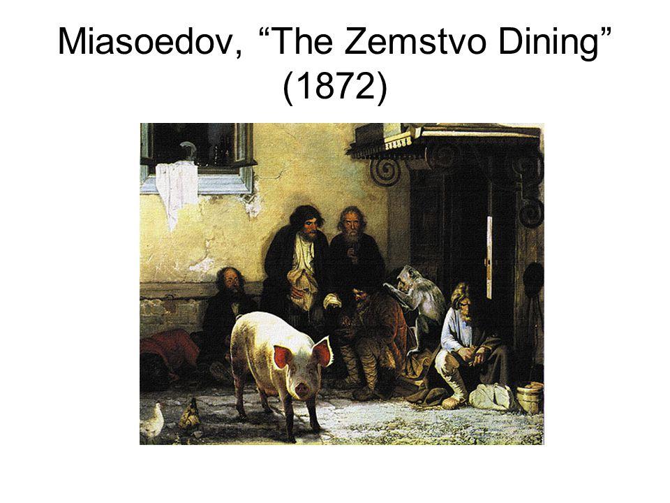 Miasoedov, The Zemstvo Dining (1872)