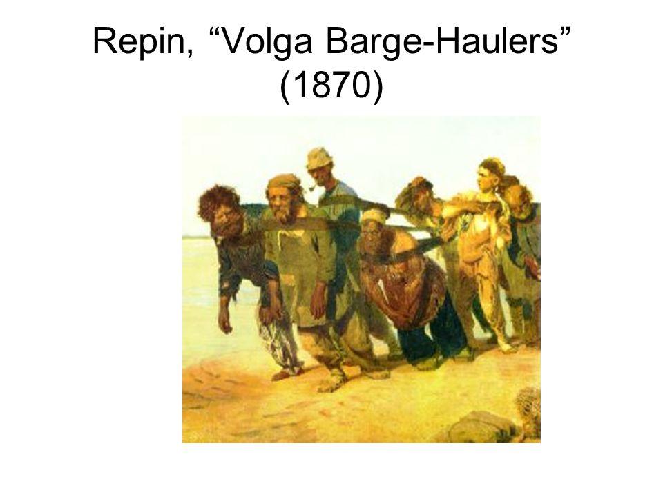 Repin, Volga Barge-Haulers (1870)