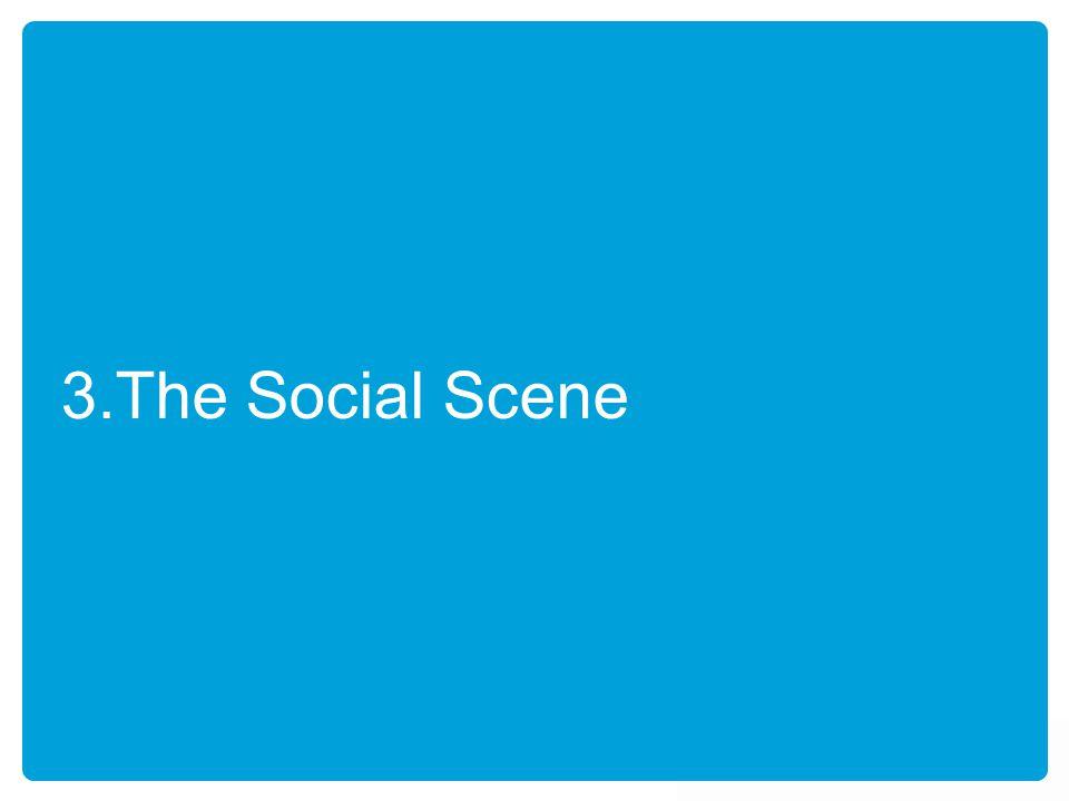 3.The Social Scene
