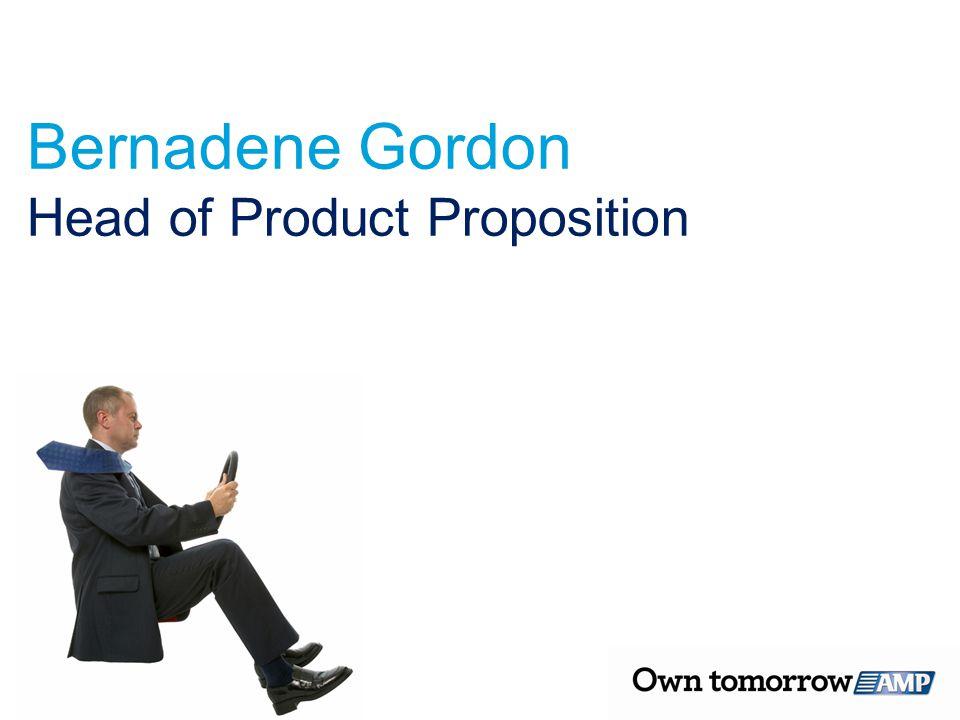 Bernadene Gordon Head of Product Proposition
