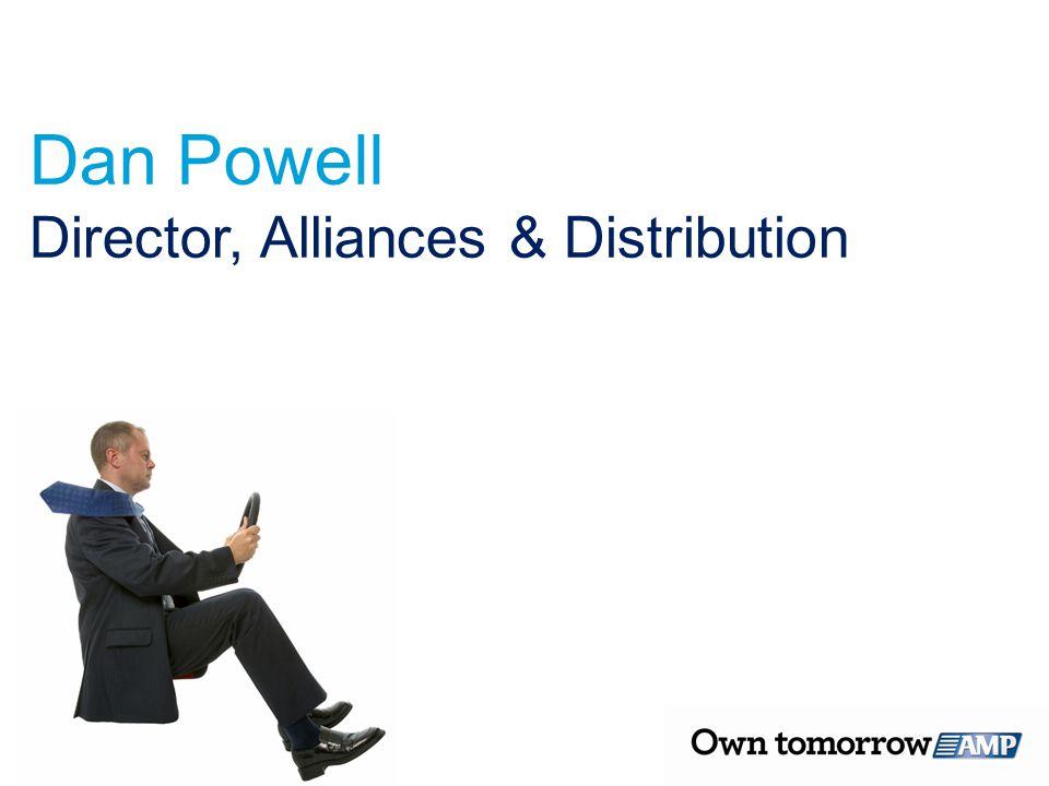Dan Powell Director, Alliances & Distribution