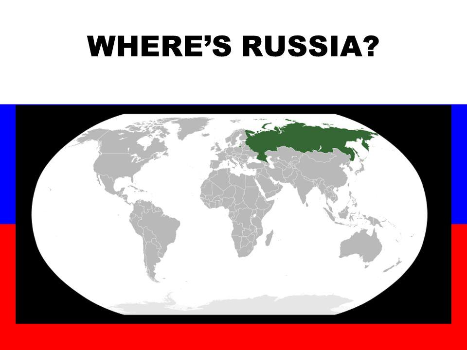 WHERE'S RUSSIA?