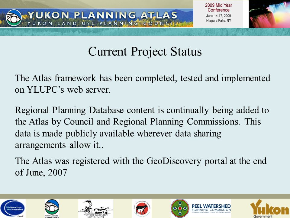 Current Project Status The Atlas framework has been completed, tested and implemented on YLUPC's web server.
