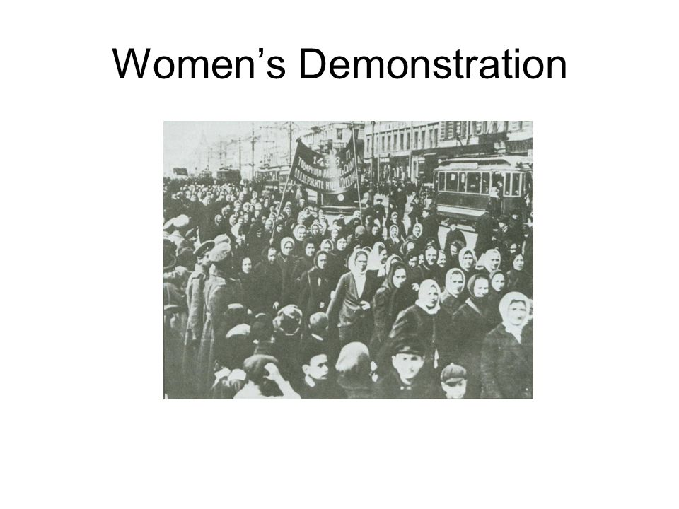 Women's Demonstration