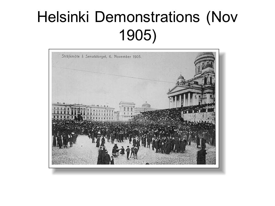 Helsinki Demonstrations (Nov 1905)