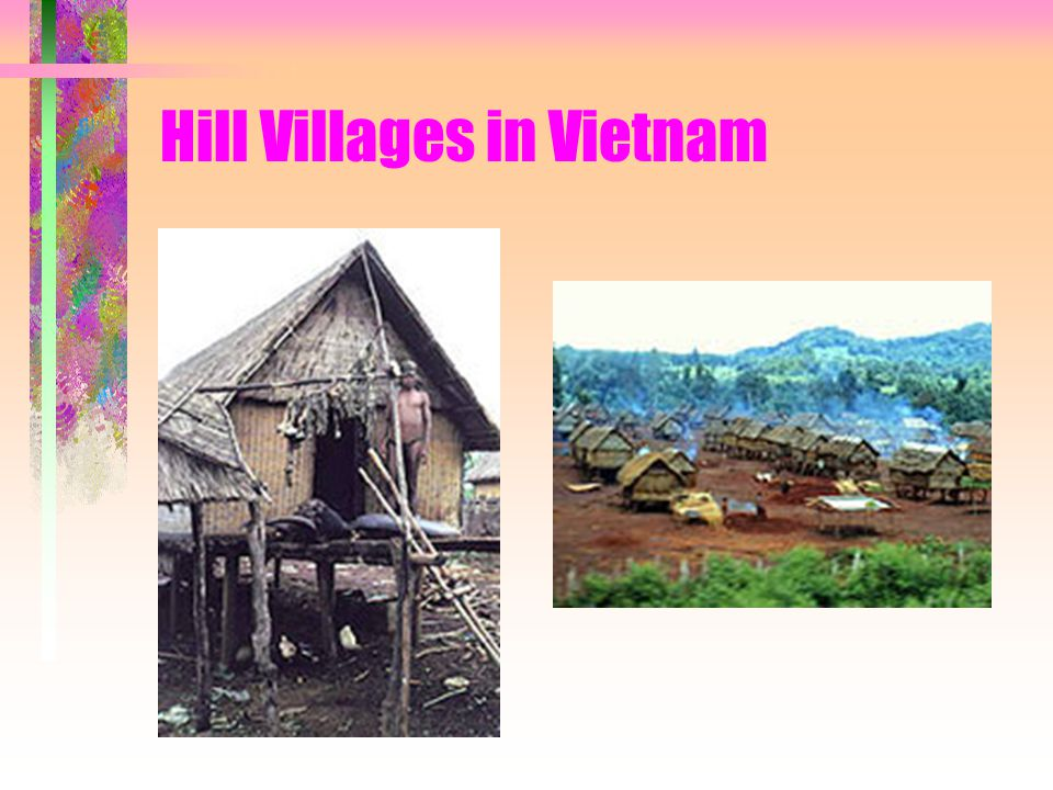 Hill Villages in Vietnam