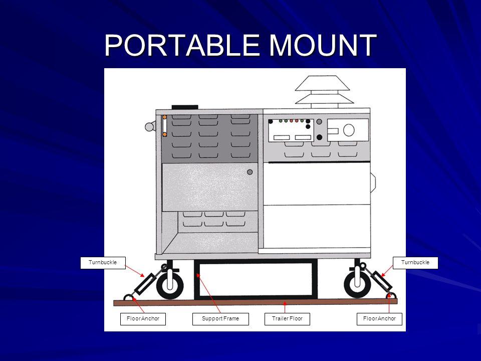 PORTABLE MOUNT Floor AnchorTrailer Floor Turnbuckle Support FrameFloor Anchor Turnbuckle