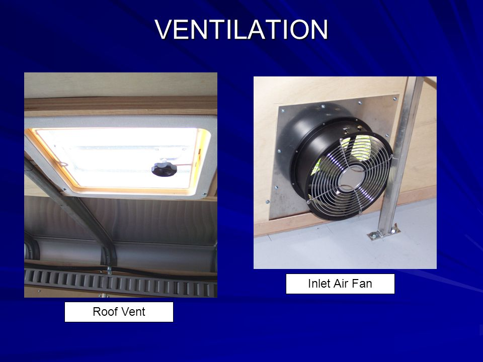 VENTILATION Roof Vent Inlet Air Fan