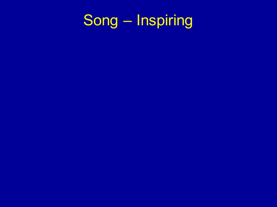 Song – Inspiring