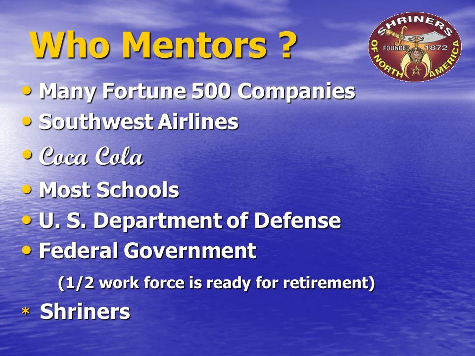 Who Mentors .