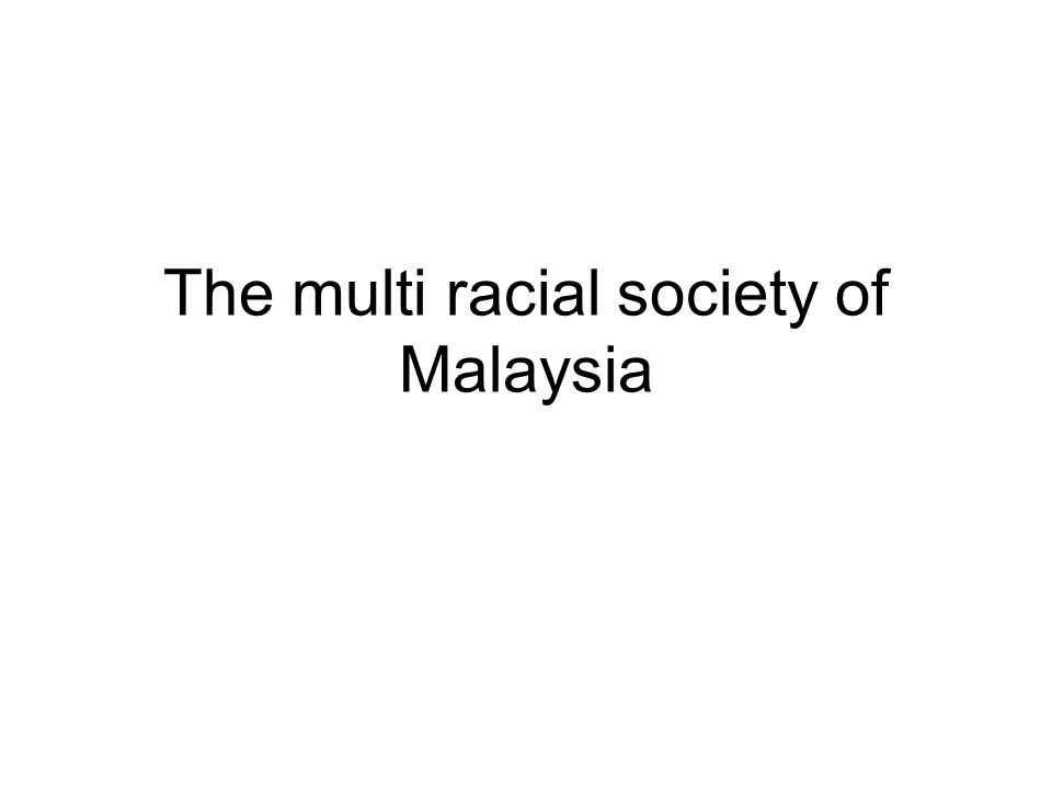 The concept of Plural society JS Furnival A social situation in colonised land.