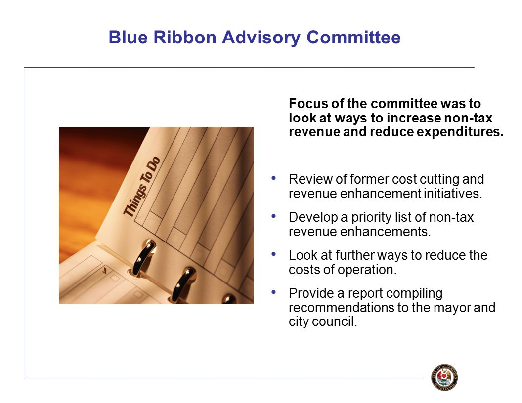 22 Other Opportunities: Shared Services The Blue Ribbon Committee recommended that the City consider establishing a Shared Service Center This center would handle administrative duties, such as accounting and payroll, on behalf of Allentown and other municipalities.
