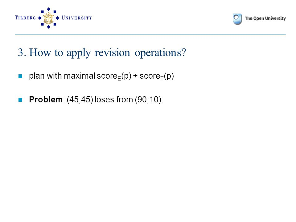 3. How to apply revision operations.