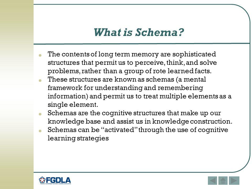 What is Schema.