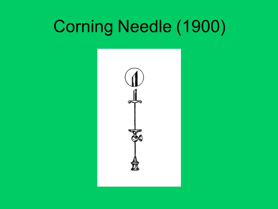 Corning Needle (1900)
