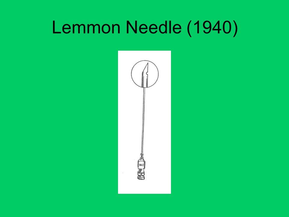 Lemmon Needle (1940)
