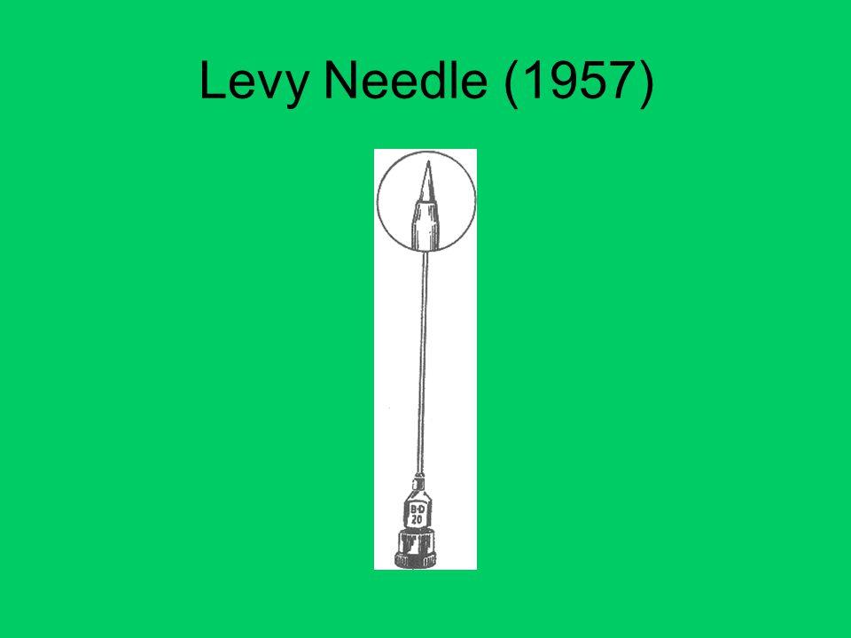 Levy Needle (1957)
