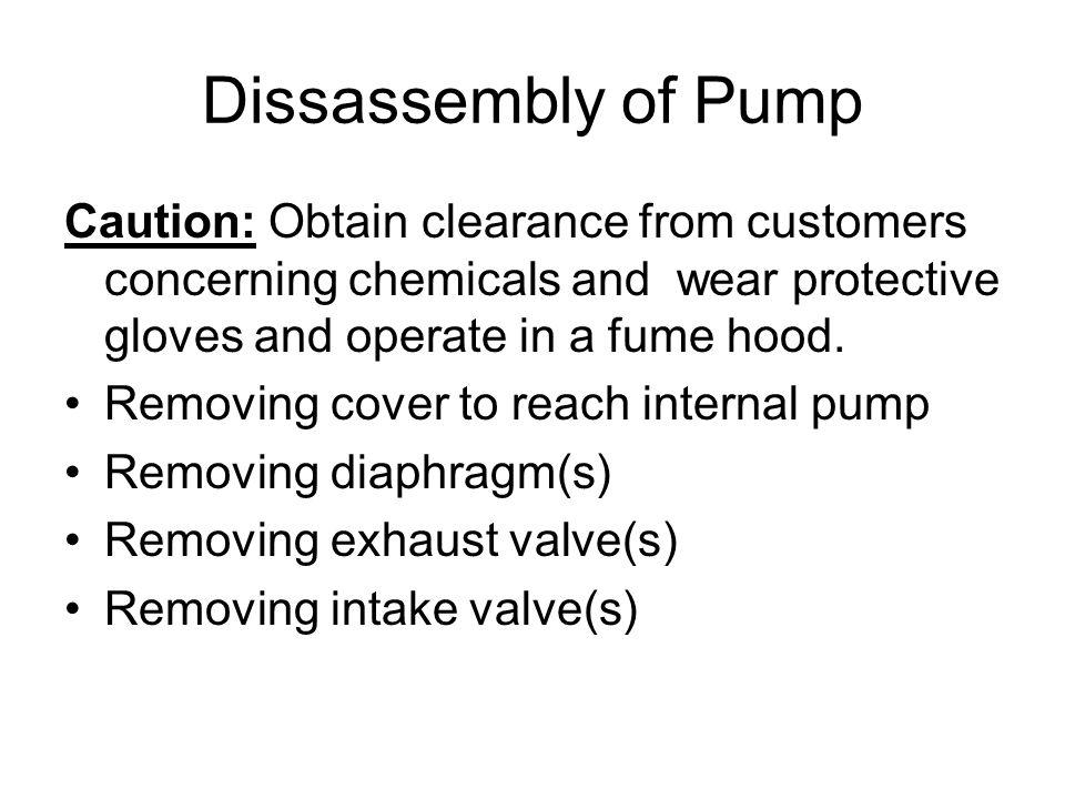 19. Install diaphragm base under diaphragm