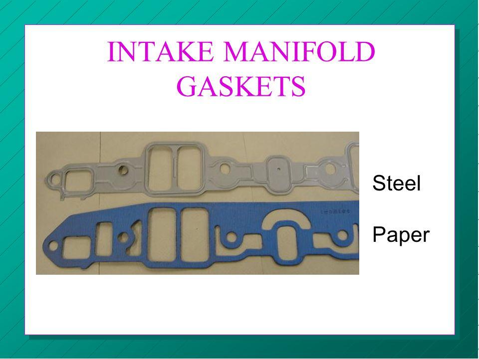 INTAKE MANIFOLD GASKETS Steel Paper