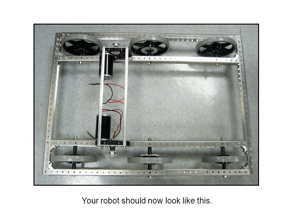 Your robot should now look like this.