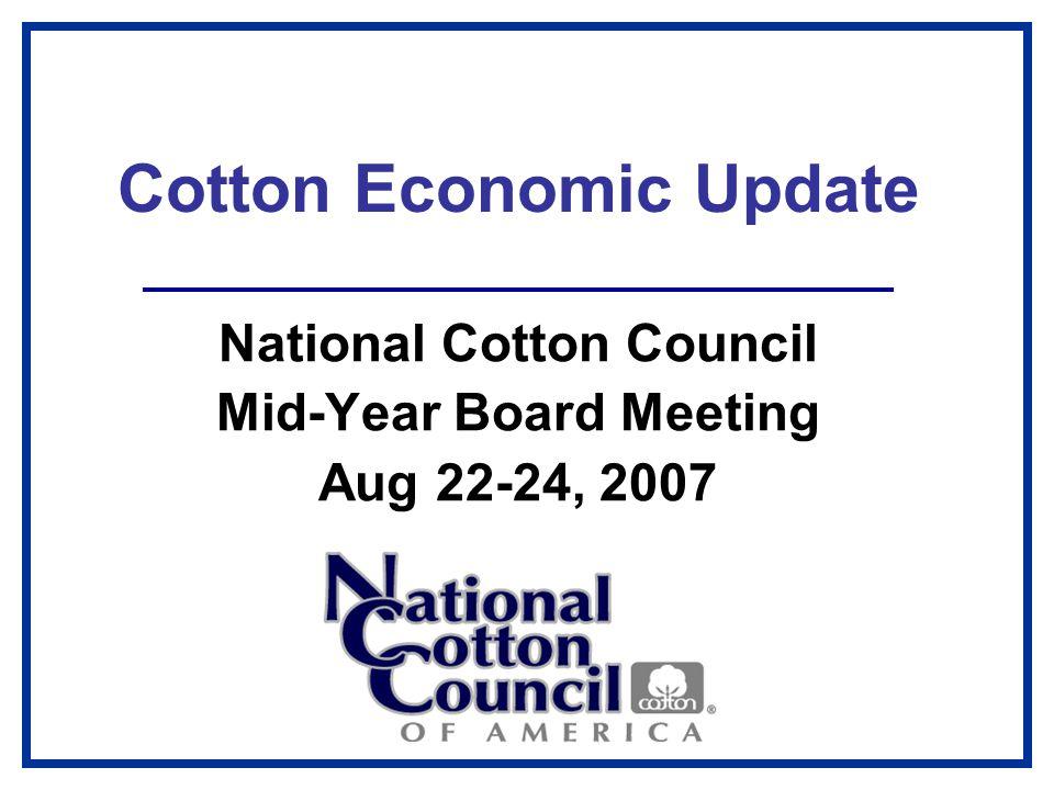 December Cotton Futures Cents per Pound