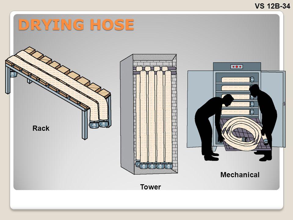 DRYING HOSE VS 12B-34 Rack Tower Mechanical