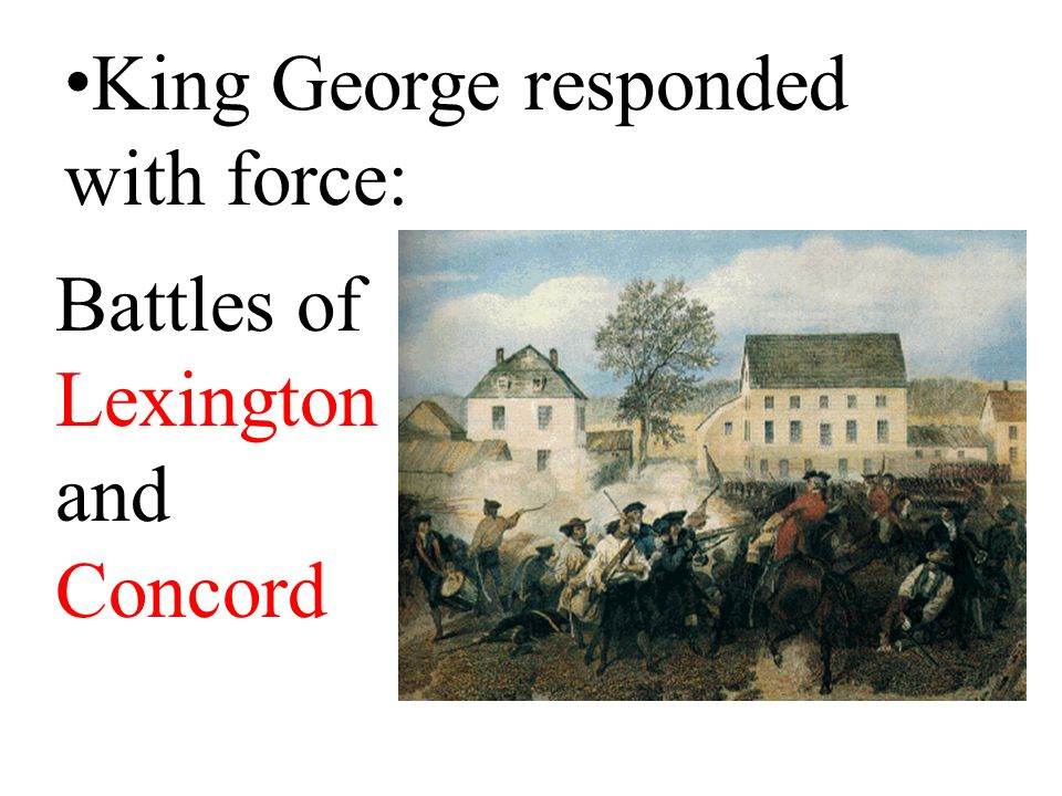 They demanded King George restore the colonists' rights and planned to extend the boycott.