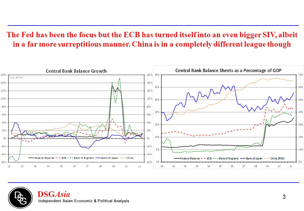 4 DSGAsia Independent Asian Economic & Political Analysis Deleveraging will be a multi-year process.