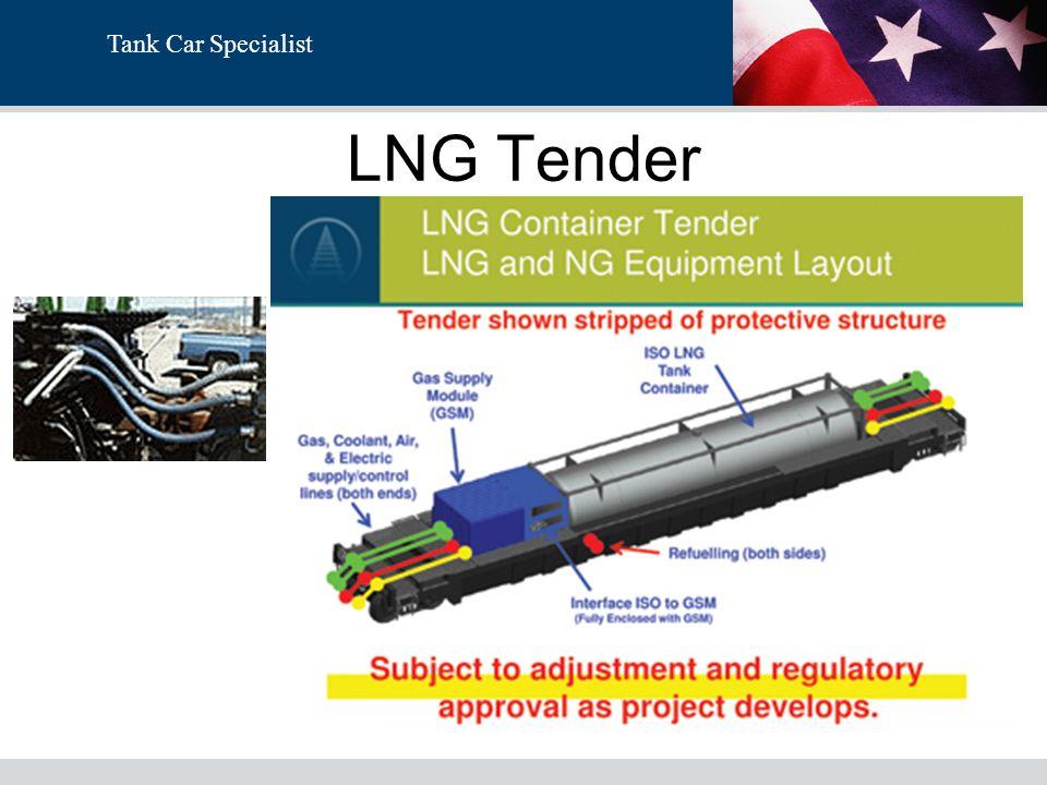 Tank Car Specialist LNG Tender