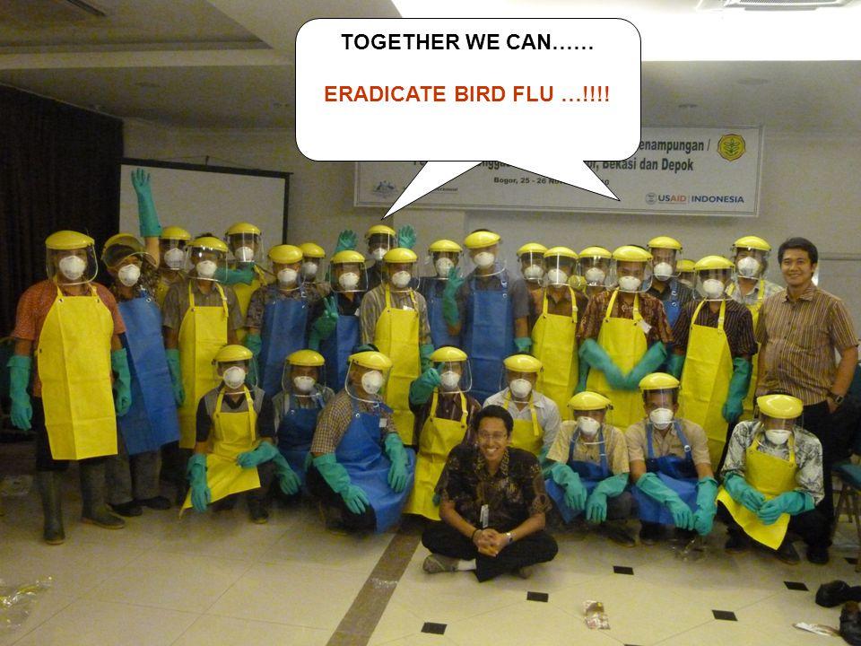 TOGETHER WE CAN…… ERADICATE BIRD FLU …!!!!