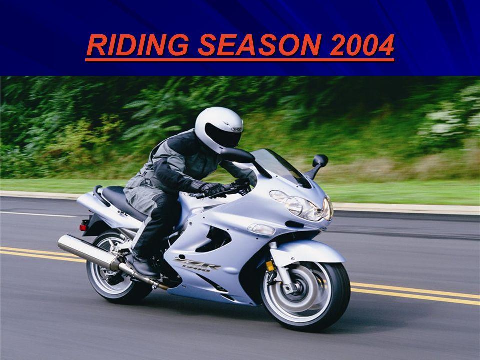 RIDING SEASON 2004