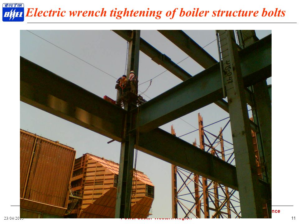 23/04/2015 Exploring Heights..................... Setting Standards.................... Marching Towards Excellence Power Sector Western Region 11 Ele