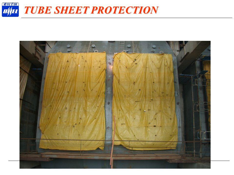 TUBE SHEET PROTECTION