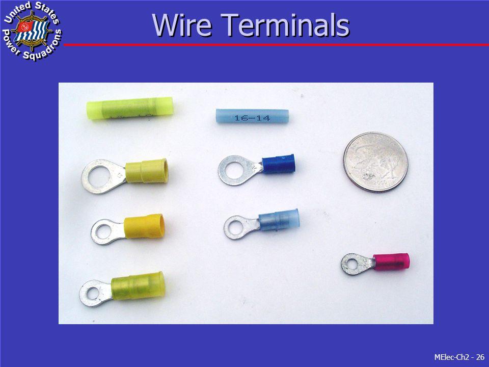 MElec-Ch2 - 26 Wire Terminals