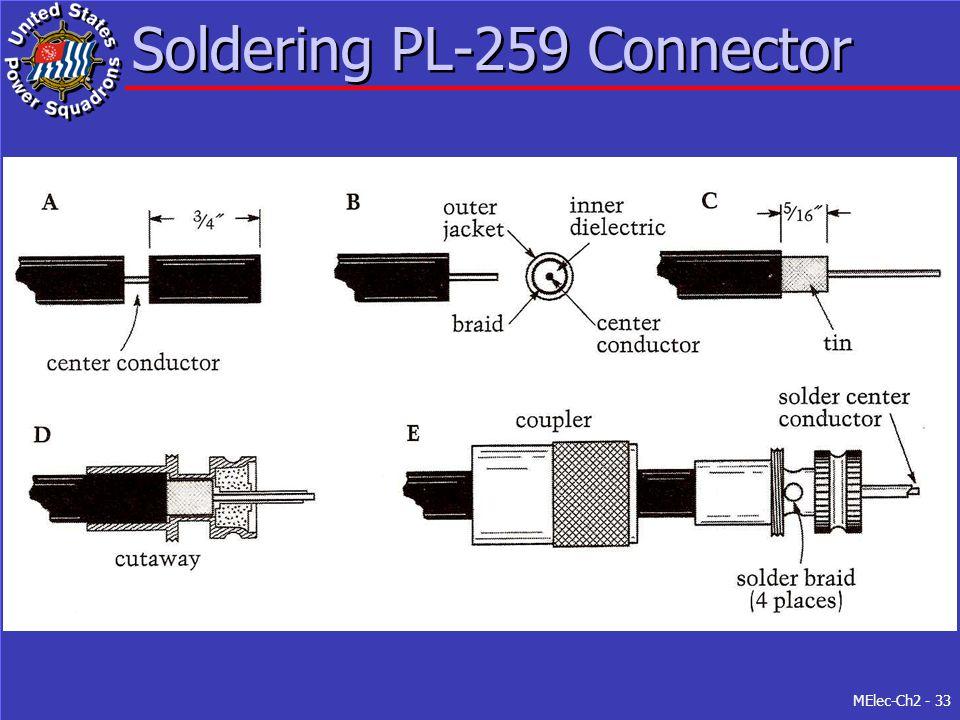 MElec-Ch2 - 33 Soldering PL-259 Connector