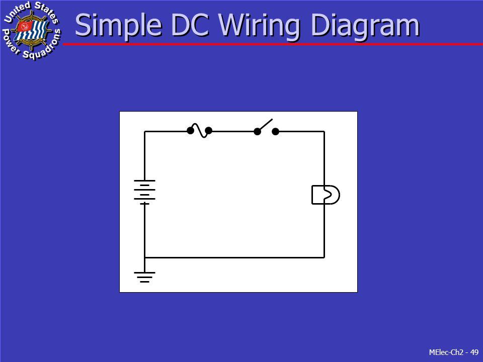 MElec-Ch2 - 49 Simple DC Wiring Diagram