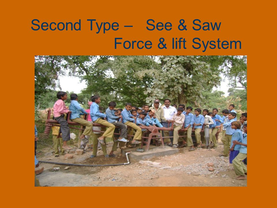 Second Type – See & Saw Force & lift System