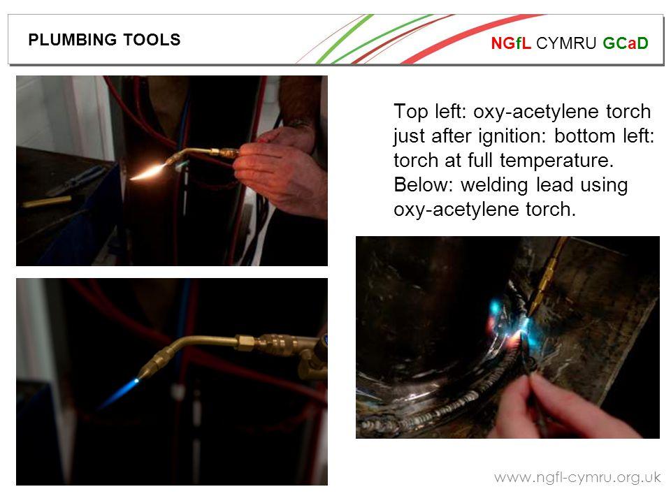 NGfL CYMRU GCaD www.ngfl-cymru.org.uk Pipes are bent to shape using pipe bending tools.