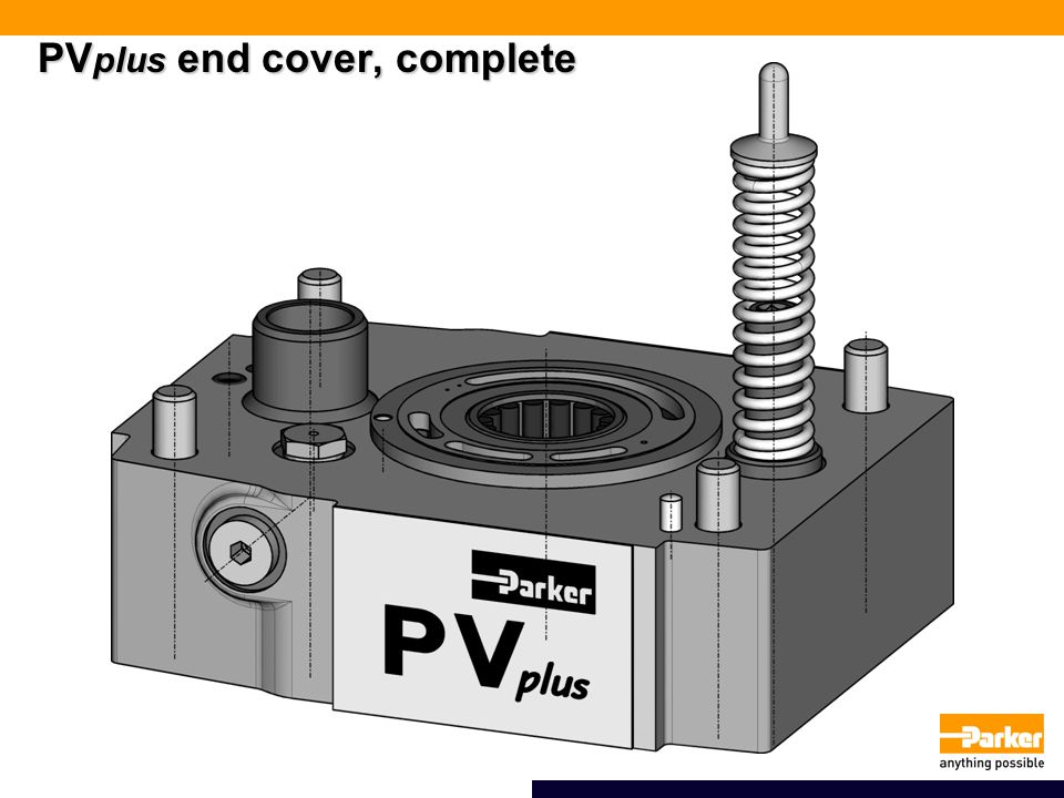 PV plus end cover, complete
