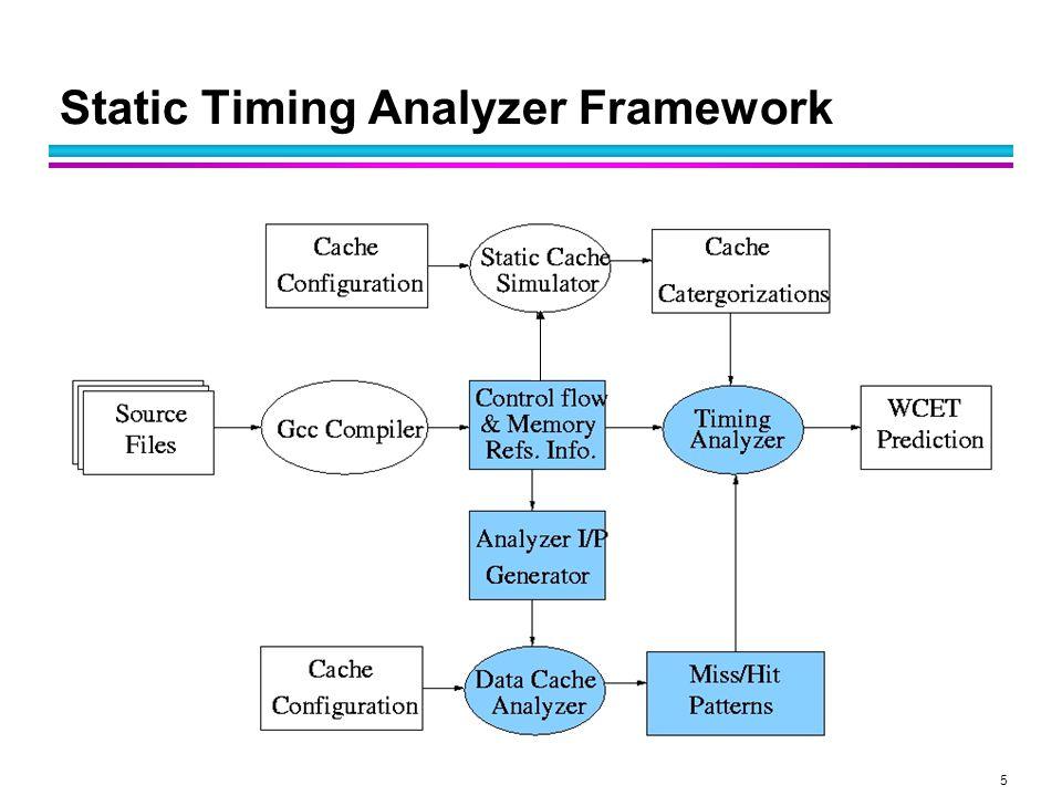 5 Static Timing Analyzer Framework