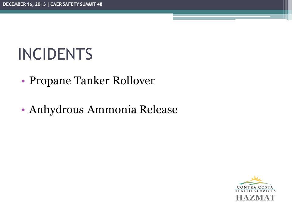 PROPANE TANKER ROLLOVER October 7, 2013, 3:24 am – 5:45 pm ▫Allied Propane tanker overturned ▫Carlson Blvd.