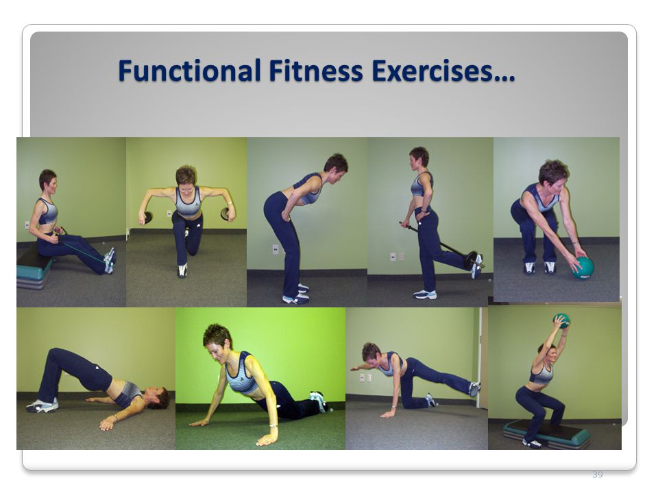 Functional Fitness Exercises… 39