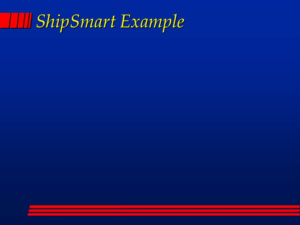 ShipSmart Example