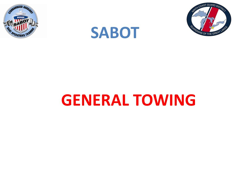 SABOT GENERAL TOWING